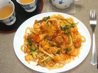 長野家-泡菜雞柳炒烏龍