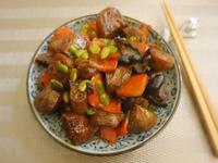 醬炒豆輪(偽烤麩)