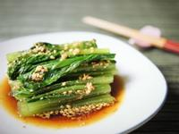 涼拌芝麻小松菜