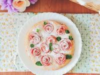 ●料理●動手做★蘋果玫瑰花海綿蛋糕