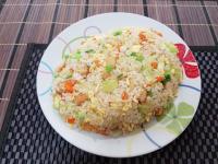 魚板高麗菜蛋炒飯