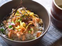 夏日清涼料理:日式鮭魚冷茶泡饭