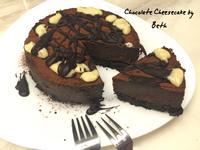 黑巧克力重乳酪蛋糕