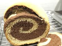 朱古力雙色麵包 (麵包機食譜)