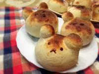 《麵包機食譜》兔子小熊麵包