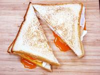 【廚男料理筆記】一分鐘做出早餐三明治