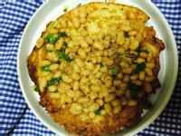瓠瓜煎餅佐英式燉豆
