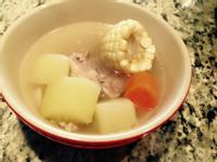 紅蘿蔔玉米青木瓜排骨湯