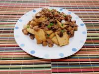 香菇肉末燒豆腐