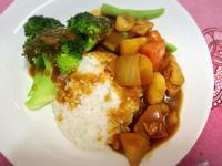 清爽日式蔬菜雞肉咖哩