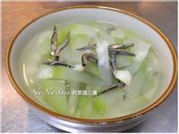 丁香魚干瓠瓜湯
