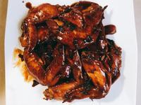 可樂醬油雞翅