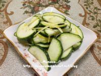義式涼拌櫛瓜