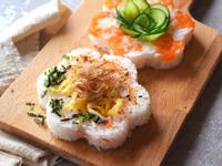 鮭魚壽司甜甜圈