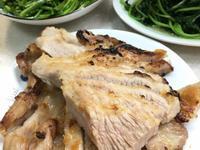 烤松阪豬肉(水波爐)
