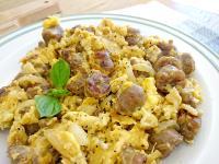 有心食譜:洋蔥香腸炒蛋