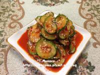 韓式涼拌櫛瓜애호박무침