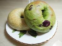 抹茶蔓越莓貝果 Bagel