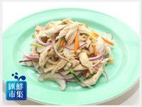 【夏天涼料理】雞肉洋蔥和風沙拉