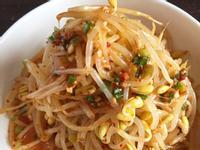 韓式涼拌黃豆芽콩나물무침