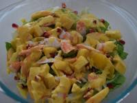 黃金蘿美鮮果沙拉 [地中海式飲食]