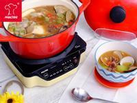 【摩堤_鑄鐵鍋料理】蛤犡小章魚大醬湯