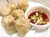 關東煮-黃瓜鑲魚漿