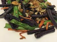 炒雙色菜豆