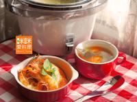 香草蝦+美式雞湯【大同星球電鍋】
