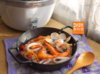 Mimi♥義式海鮮燉飯【大同星球電鍋】