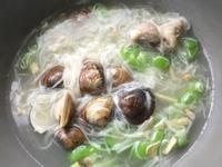 絲瓜蛤蠣排骨麵線