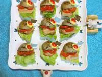 【早安麵包機の練習曲】迷你野餐芝麻小漢堡