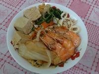 泡菜海鮮拉麵-五木拉麵