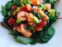酪梨鮭魚沙拉