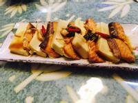 鮭魚蒸豆腐