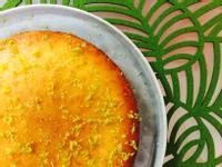 清香爽口:老奶奶檸檬蛋糕