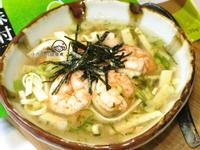海苔蝦仁豆腐羹