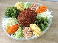 韓式涼拌蕎麥麵-쟁반막국수