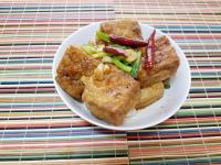蔥燒油豆腐