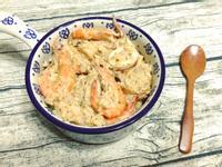 青醬海鮮燉飯之海鮮三重奏