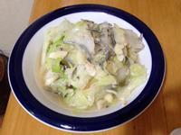 大白菜炒小魚乾