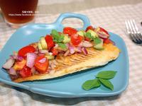 香煎鯛魚排佐沙沙醬