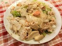 天然野菇鮭魚燉飯