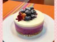 免烘焙藍莓起司蛋糕