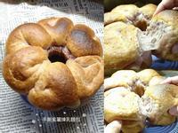 手撕紫薯煉乳麵包(9吋皇冠模)