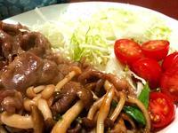 葵絲料理-薑汁燒豬肉