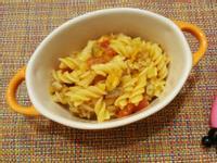 寶寶副食:南瓜蕃茄肉醬螺旋麵