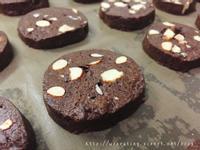 小烤箱做巧克力杏仁餅乾(也有大烤箱版)