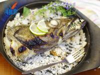 海鮮霸-鹽烤圓鱈頭