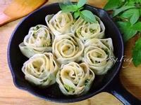 玫瑰煎餃(韭菜豬肉口味)